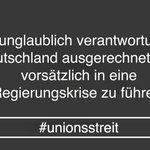 #Unionsstreit Twitter Photo