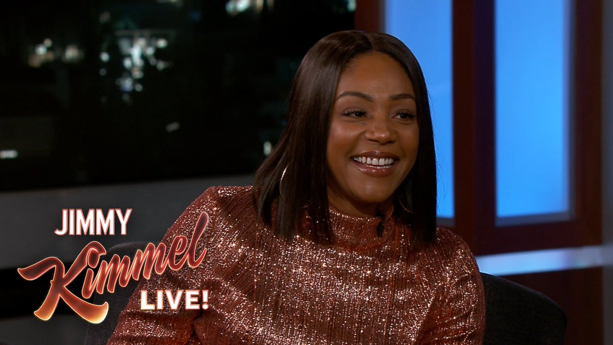 .@TiffanyHaddish on being homeless in LA and how @KevinHart4real helped change her life