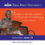 [CALENDAR] #DailyMotivation from Thomas Jefferson. #HPU365