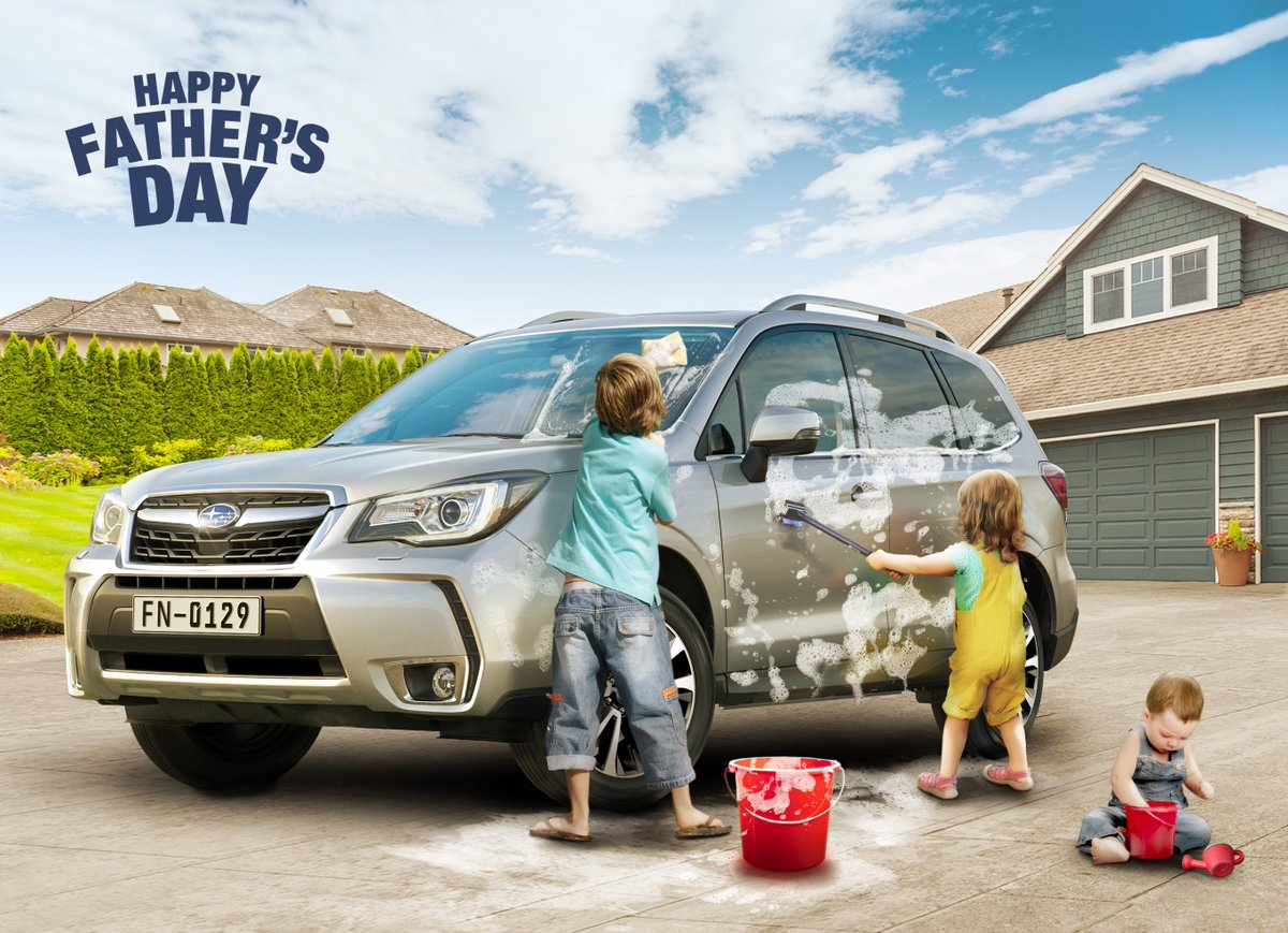 Happy Father's Day!#fathersday#subaruforester#extraordinarysuv https://t.co/usLXRnvIRQ