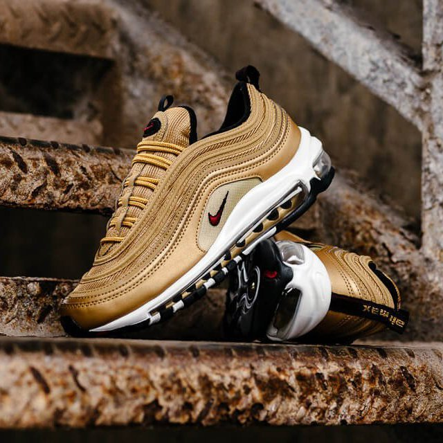 Nike Air Max 97 W OG QS Gold Bullet Size UK 7.5 eBay