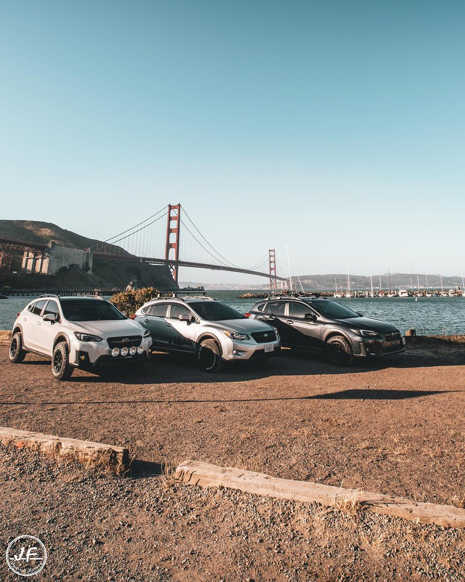 #FanFriday Even the#SubaruXVneeds a mandatory shot at the iconic Golden Gate Bridge in San Francisco! Thanks for this pretty shot, @jftrekk! Share your photos with us to have it featured on our page! #unparkyourlife#xv#crosstrek https://t.co/1q7WlTGzvO