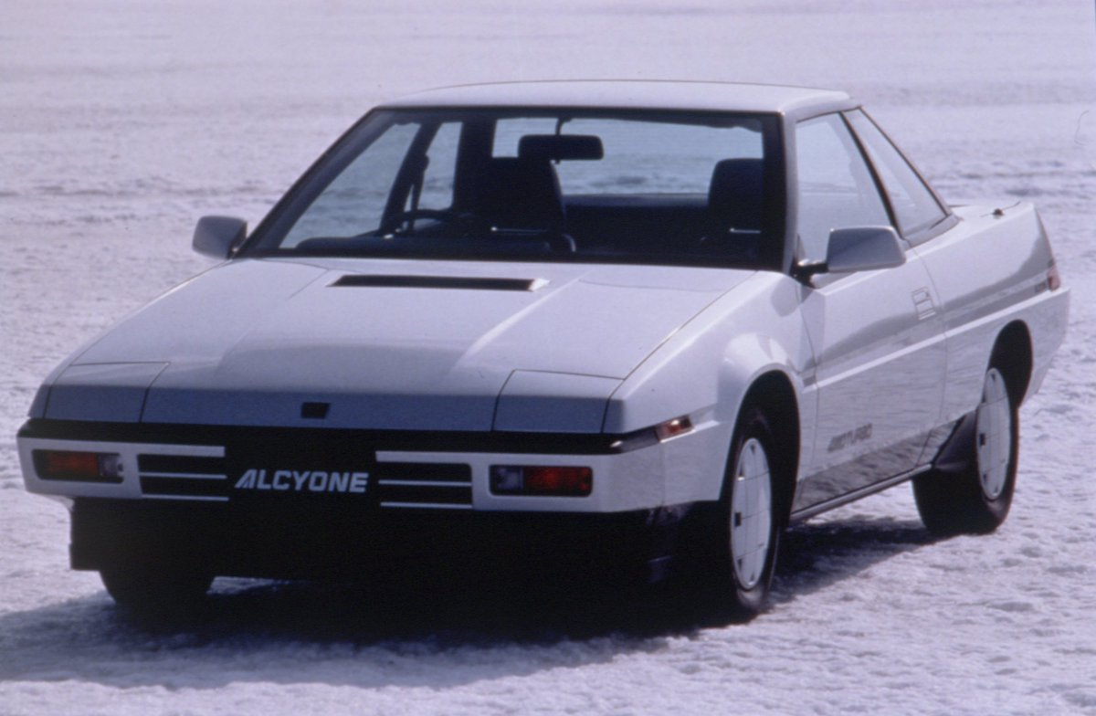 The Subaru#Alcyonewas launched in Japan in June 1985. It was named after a particularly bright star in the Pleiades, a star cluster called#Subaruin Japanese. #subaruheritage#ilovesubaru https://t.co/F079L7hpss