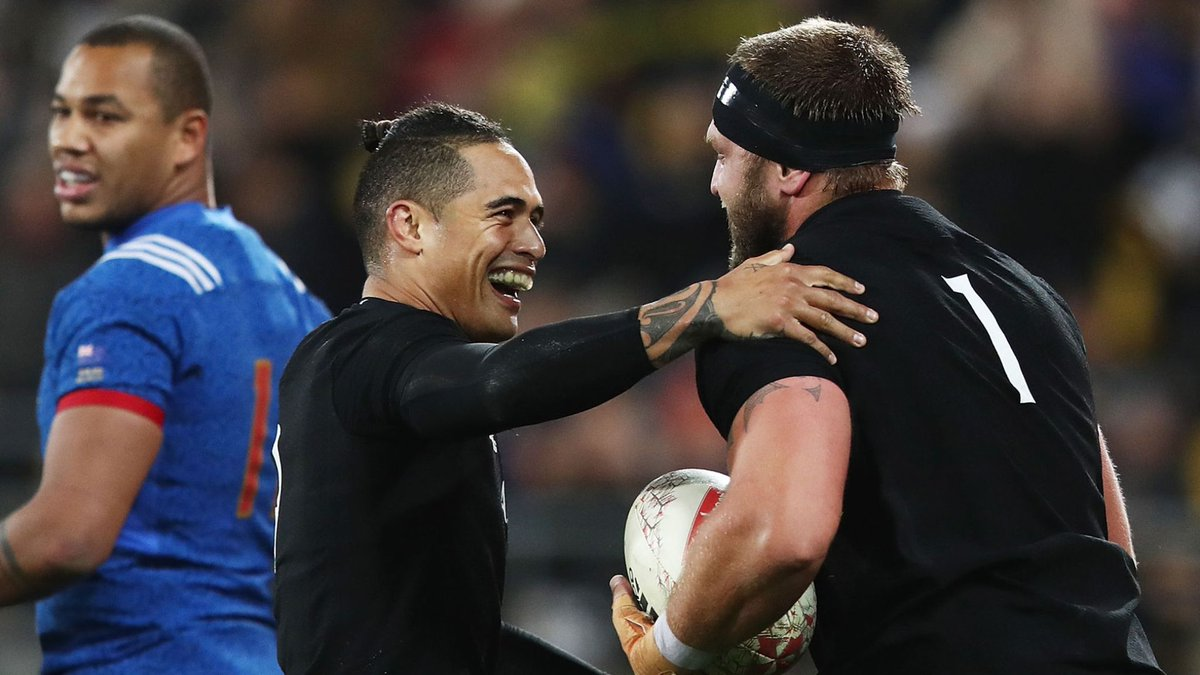 test Twitter Media - WATCH: New Zealand 26-13 France Highlights from Wellington where 14-man France fought hard but were ultimately outclassed by hosts New Zealand: https://t.co/ay37ScHgOg https://t.co/eddgtBF6aV