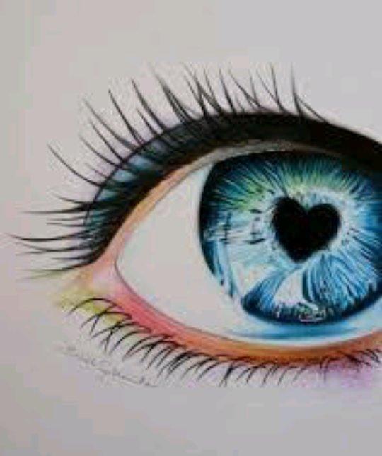 drawings of eyes - 736×951