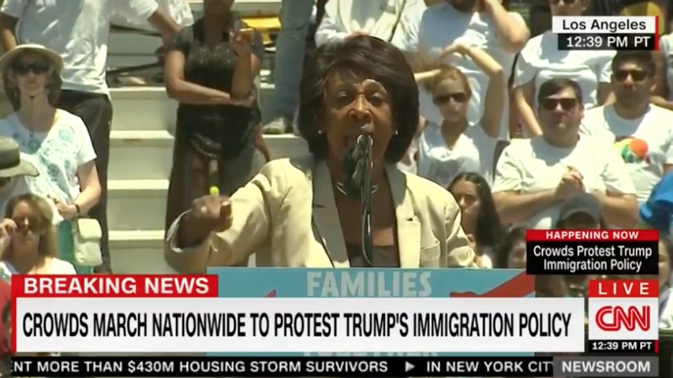WATCH: Maxine Waters responds to death threats: 'You better shoot straight' https://t.co/Jy4qONEWm8