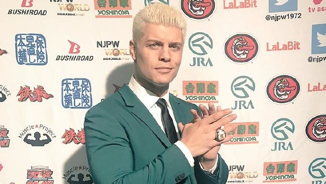 Happy Birthday to Cody Rhodes who turns 33 today!