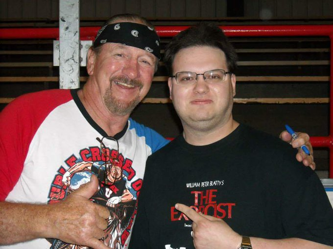 Happy birthday to the one and only living legend Terry Funk! It was an honor to meet him!