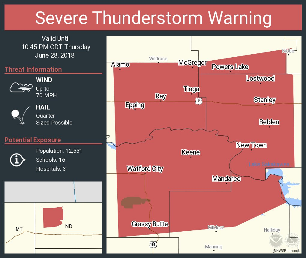 NWS Severe Tstorm on Twitter: