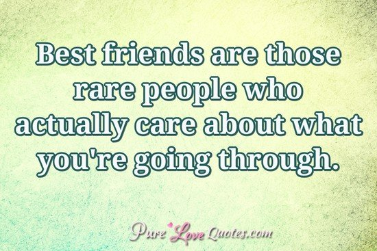 "Pure Love Quotes On Twitter: ""Best Friends Are Those Rare"