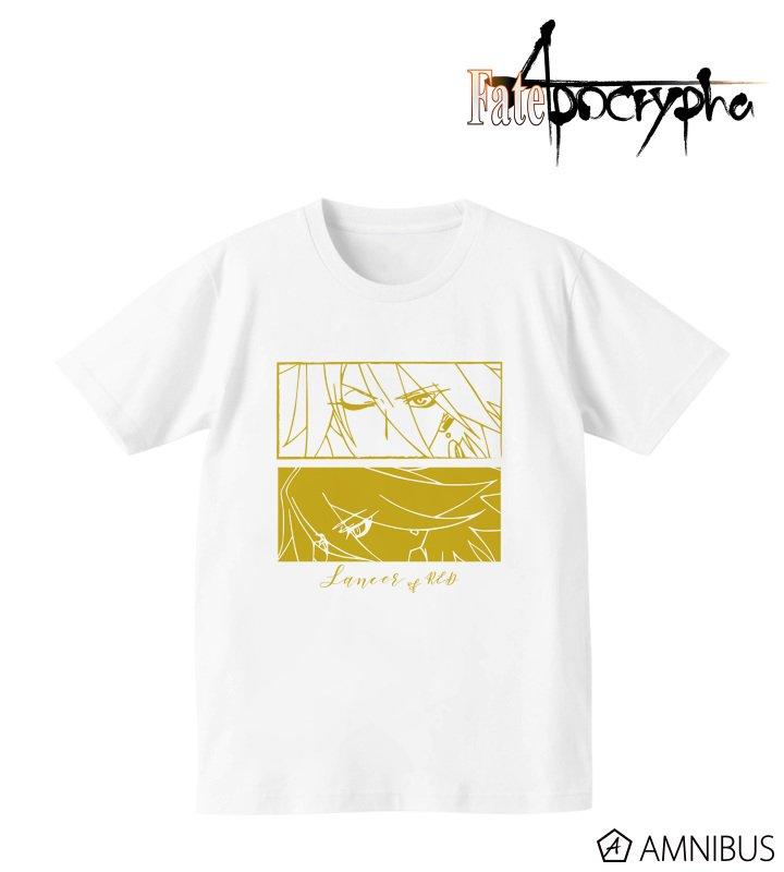 Fate/Apocrypha 赤のランサー Tシャツ レディースに関する画像2