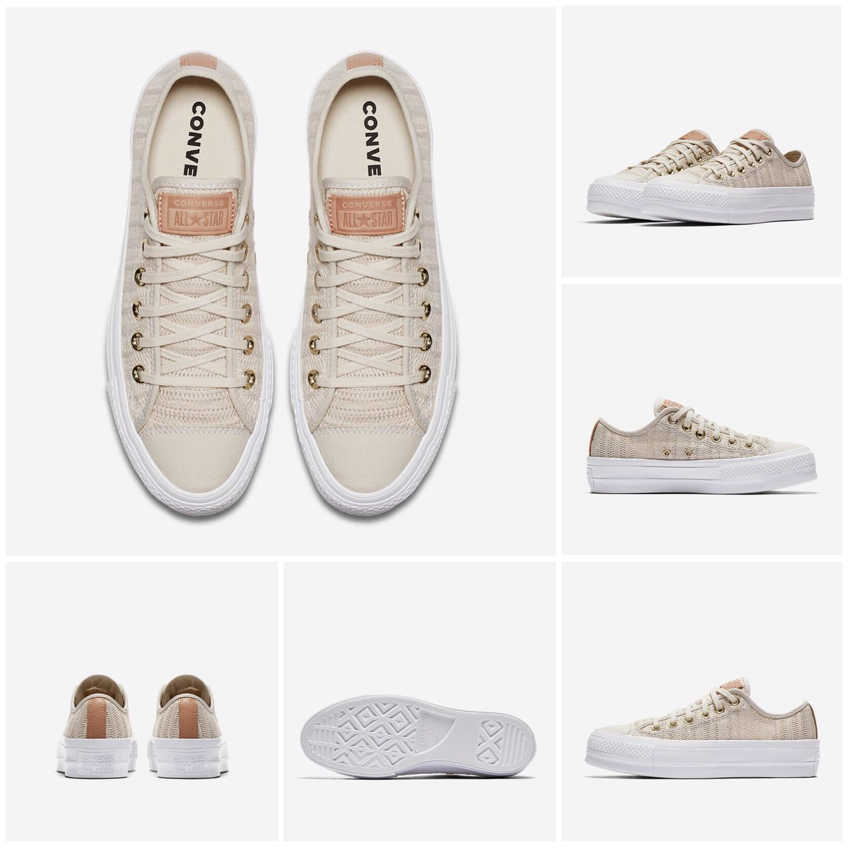 ... TAYLOR ALL STAR LIFT HERRINGBONE MESH LOW TOP Women s Shoe  44.97 👈 👀  Sizes 5-11 Double-stacked rubber sole for added height. Lightweight c361dcbca