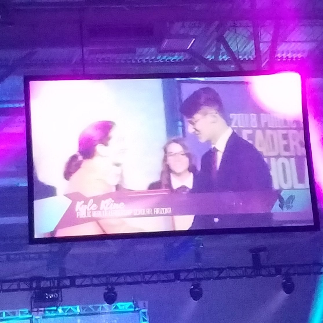 CONGRATULATIONS @KyleKline_ for being chosen as a Public Health Leadership Scholar. How exciting to intern with the @Surgeon_General @PVHSCREST @PVHS_CREST_HOSA #AZHOSAmoments #HOSAILC2018