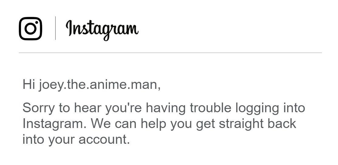 Joey On Twitter Hey Random Instagram User Whos Trying To Hack