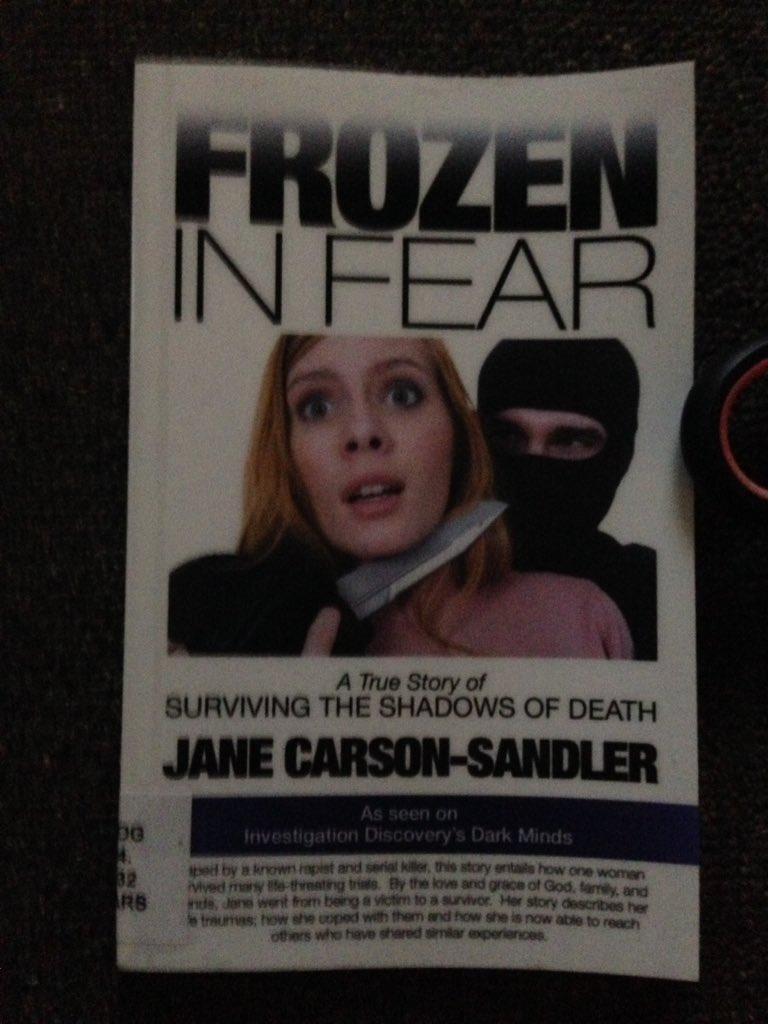 Mds On Twitter I Finally Got Hold Of Frozen In Fear By
