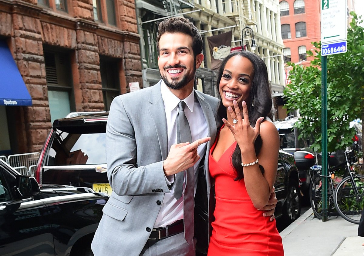 475df529f7f former bachelorette rachel lindsay was spotted meeting with a wedding dress  designer