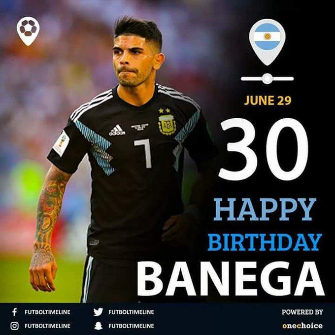 Happy Birthday Ever Banega