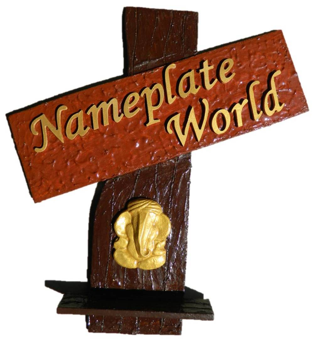 Craftfurnish On Twitter Wooden Handmade Designer Nameplate Will