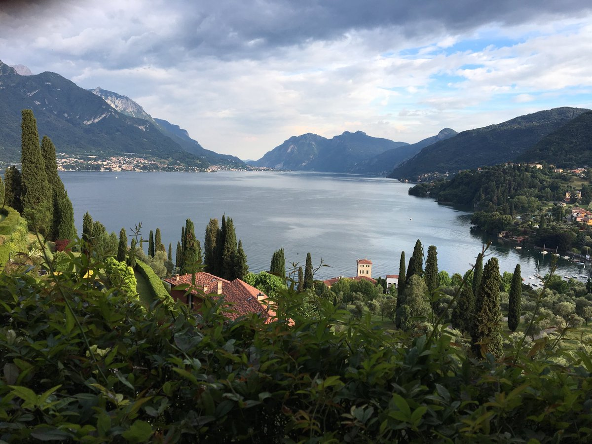 Thank you so much for inspiring - and unfinished - conversations #innovativefrontiers2018 #rfbellagio #sadtogo