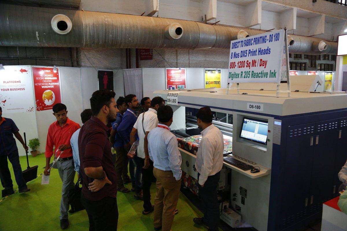Innovative Garmenting Textile Machinery At Gartex2018 Register Now Googl DeqwkN More Details Gartexindia DigitalIndia