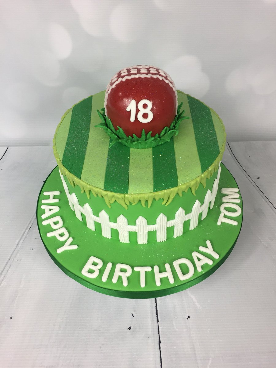 Castle Cakes On Twitter Cricket Themed Birthday Cake