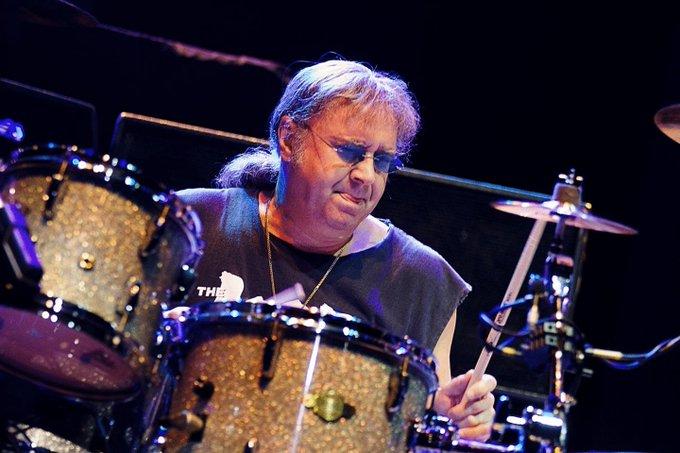 Happy Birthday to Ian Paice, drummer for Deep Purple, born June 29th 1948