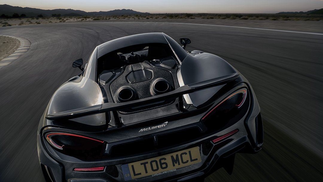 Mclaren Automotive On Twitter A Unique Exhaust System With Top
