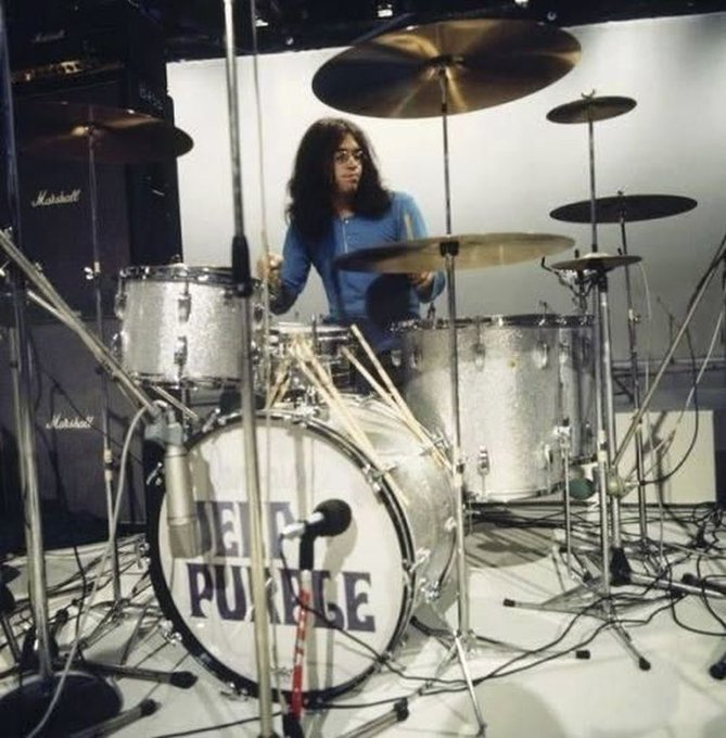 Happy Birthday Ian Paice of Deep Purple!