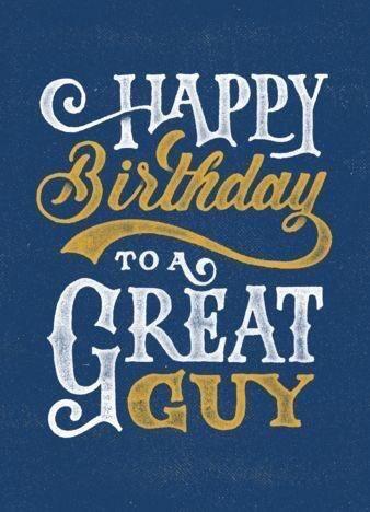 Happy Birthday Big Guy!