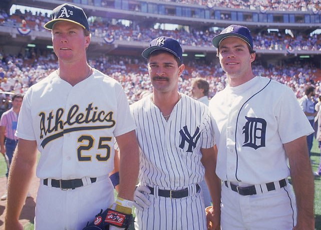 Baseball In Pics On Twitter Mark Mcgwire With Don