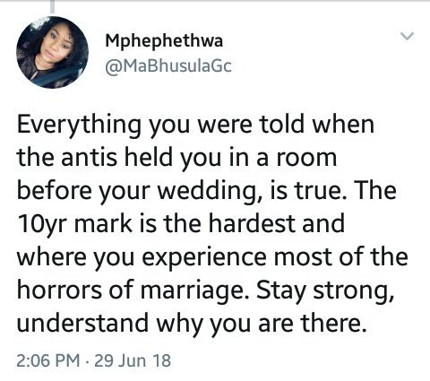 Marriage question relationship