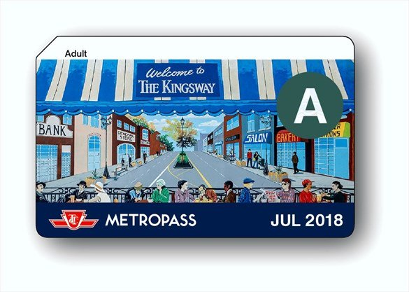 Image result for ttc metropass price