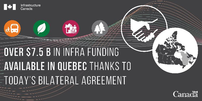Fcm On Twitter This Agreement Between The Federal And Quebec