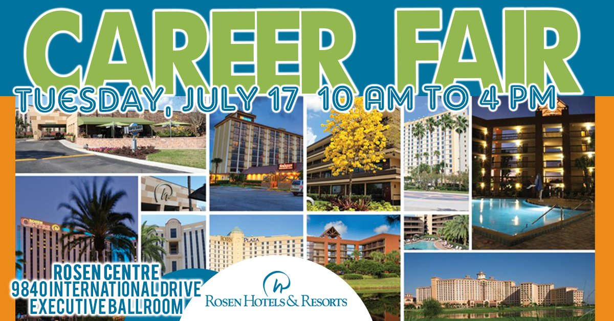 We Re Looking For Top Talent To Join Our Nine Orlando Hotel Properties Grow Your Career At Rosen Hotels Resorts A Great Place Put Down Roots