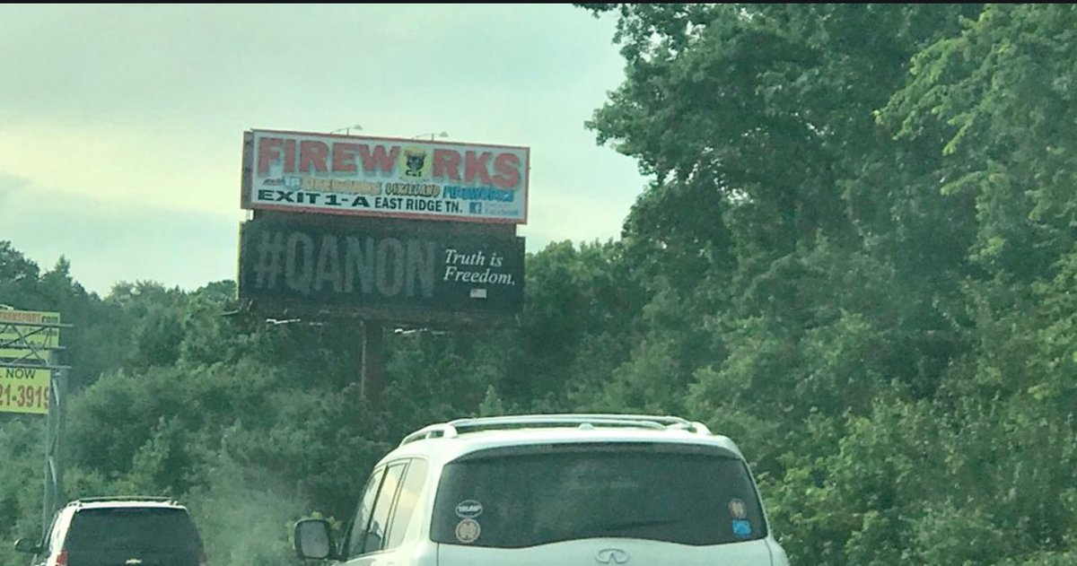 "Will Sommer on Twitter: ""QAnon billboards are a thing now. This one's in Georgia.… """