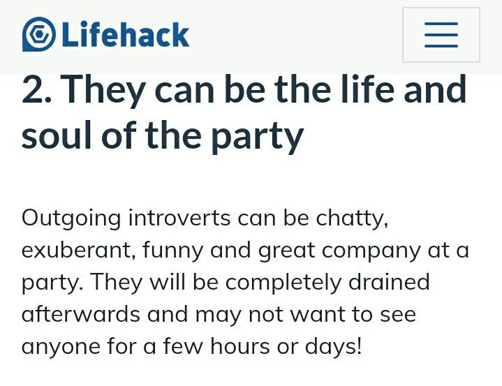outgoing introvert quiz