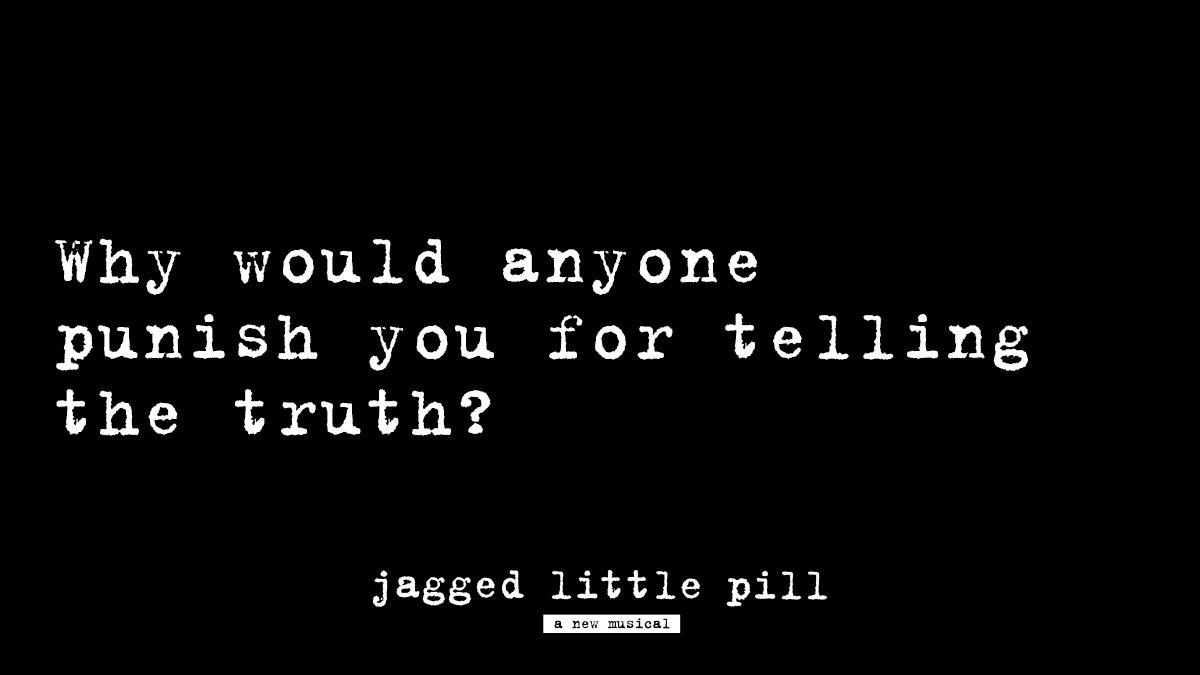 The dialogue starts now—speak up. #JaggedLittlePillART
