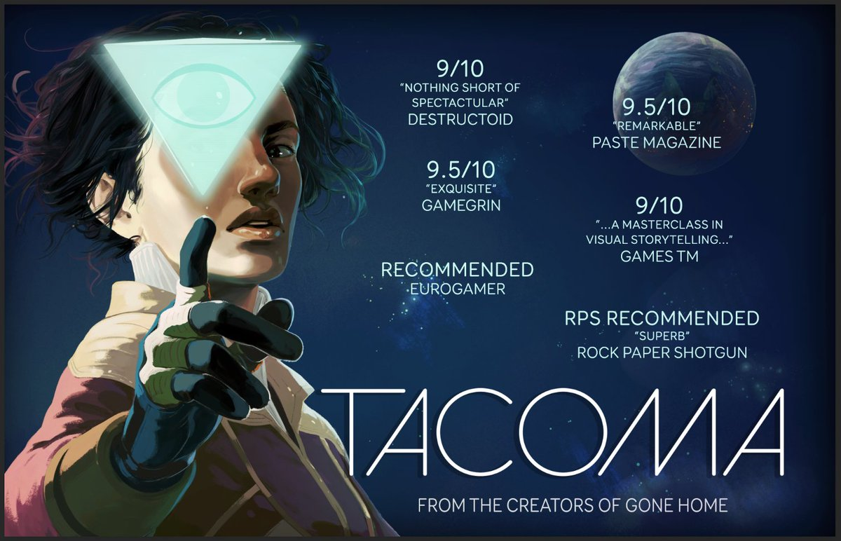 Tacoma tacomagame twitter httpstacomachtacoma for those who play drm free or want to directly support the devs cheers and welcome aboardpicittersaw2vndus8 m4hsunfo