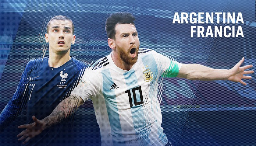 Ver EN VIVO Argentina vs Francia Mundial Rusia 30 Junio 2018