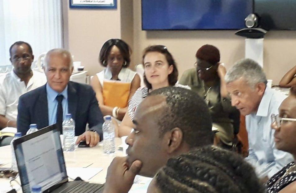Réunion Comité régional service sanitaire Guadeloupe