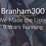 We're so excited to share with you that we made the #Branham300 list of the Top 250 Canadian ICT companies this year—for the 8th year running! It's a huge honor for us, and we couldn't have done it without all of you. https://t.co/7HZDMxvaou