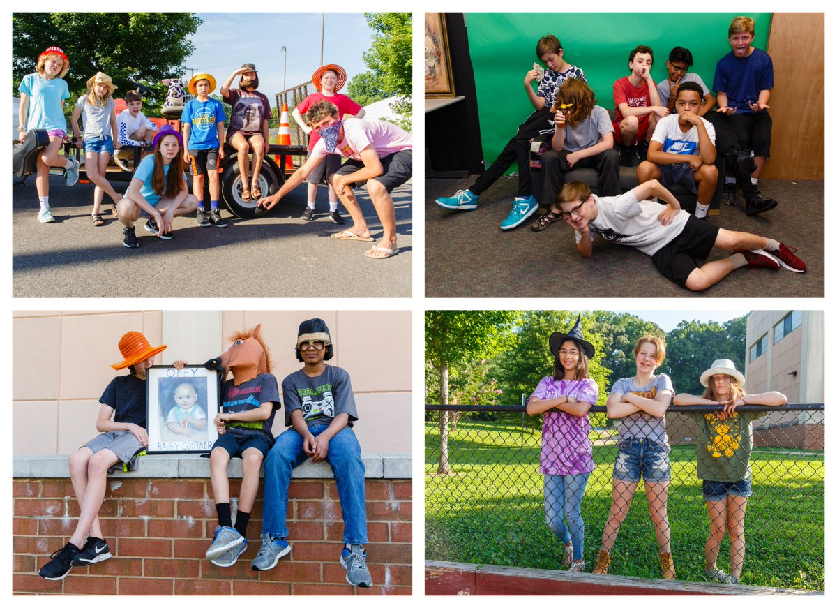 On Day 5 of <a target='_blank' href='http://twitter.com/costnerMedia'>@costnerMedia</a> Video Camp Ss posed for their