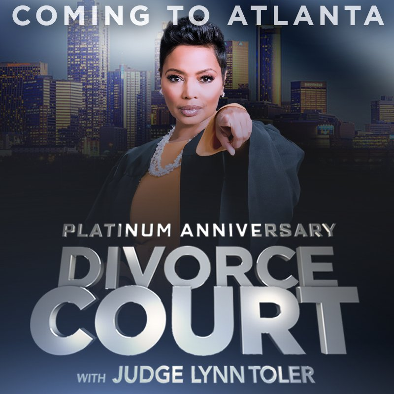 """Divorce Court Records: Divorce Court On Twitter: """".@RealJudgeLynn Is Back In The"""