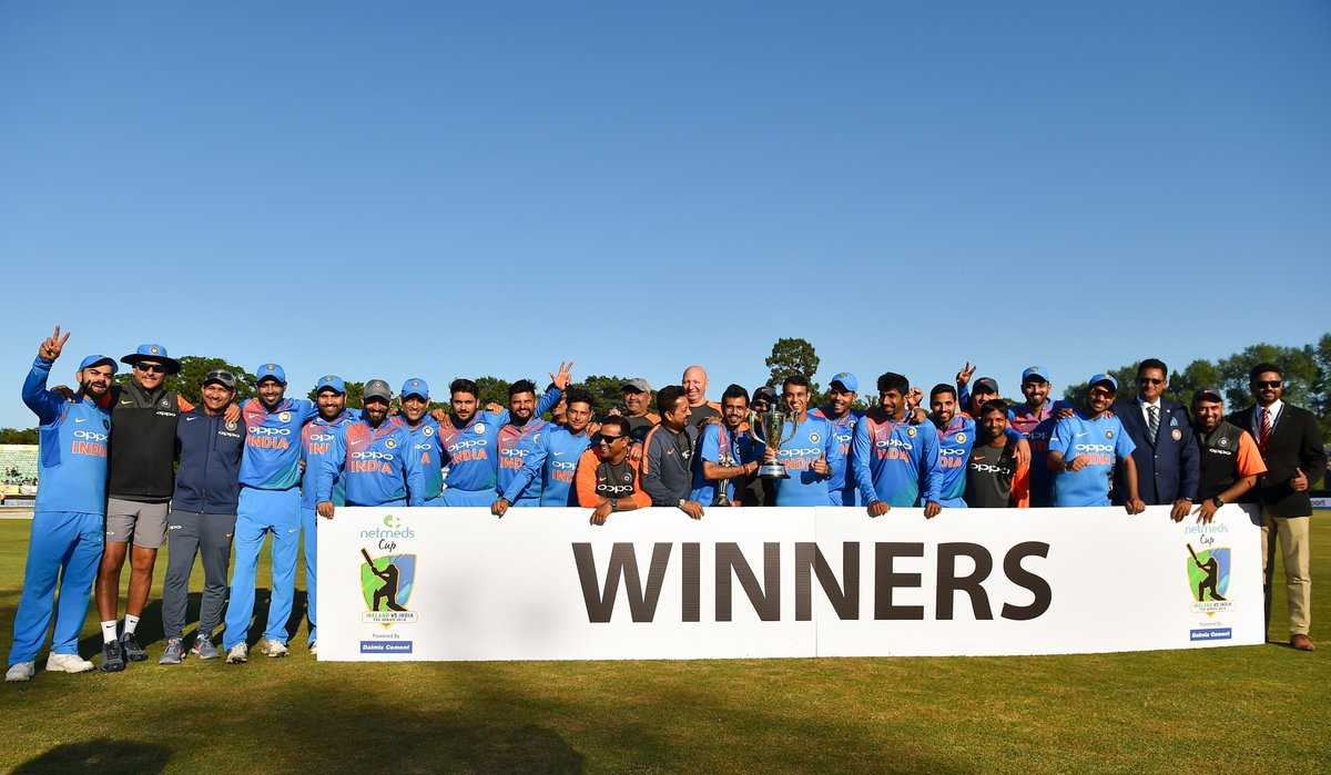Ireland Vs India, 2018: Records Broken During Second T20 International at Malahide