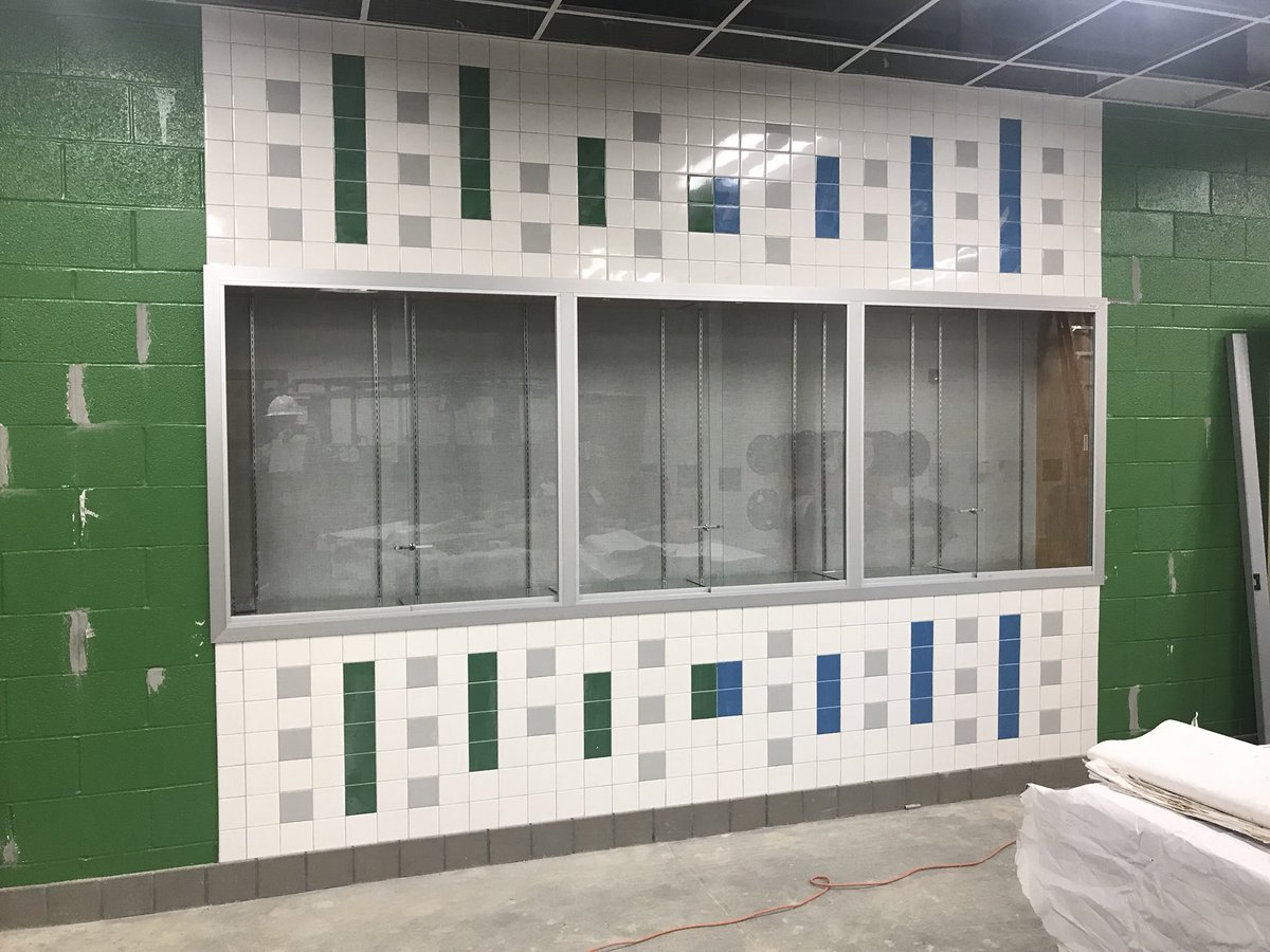 Goshen Post Es On Twitter Pictures Of The Trophy Cases