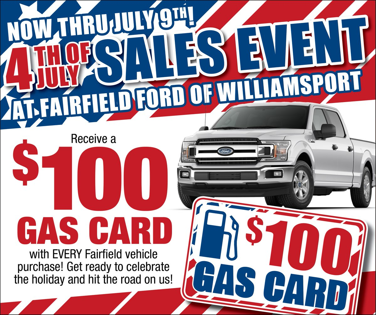 Ford Of Williamsport Fairfieldfow Twitter