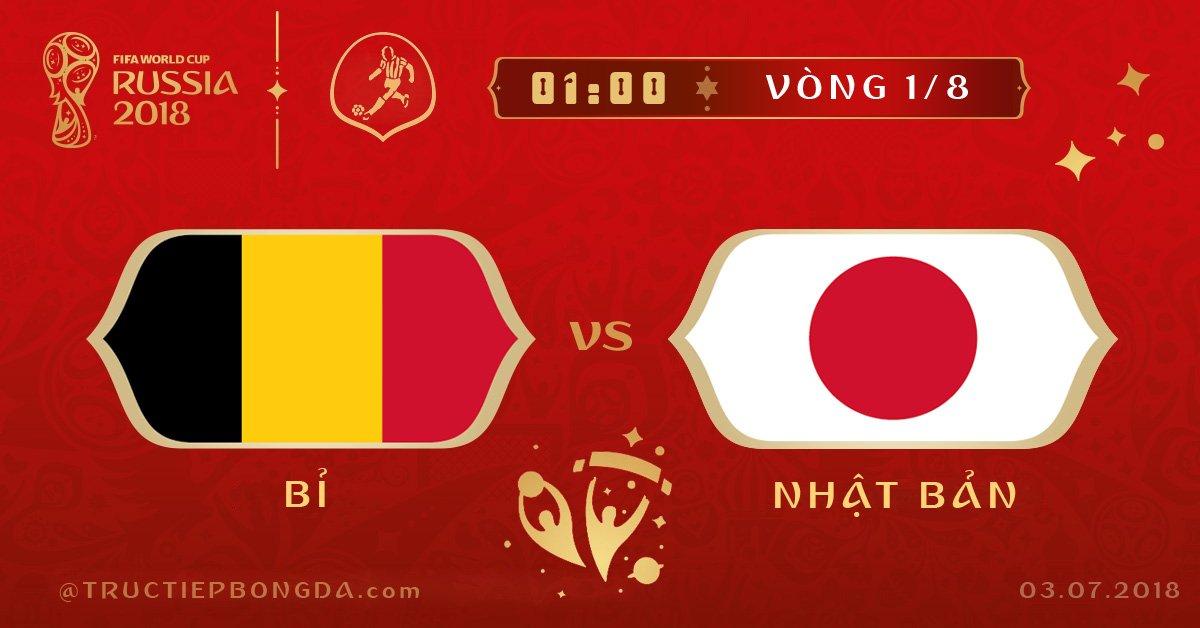 Bỉ vs Nhật Bản