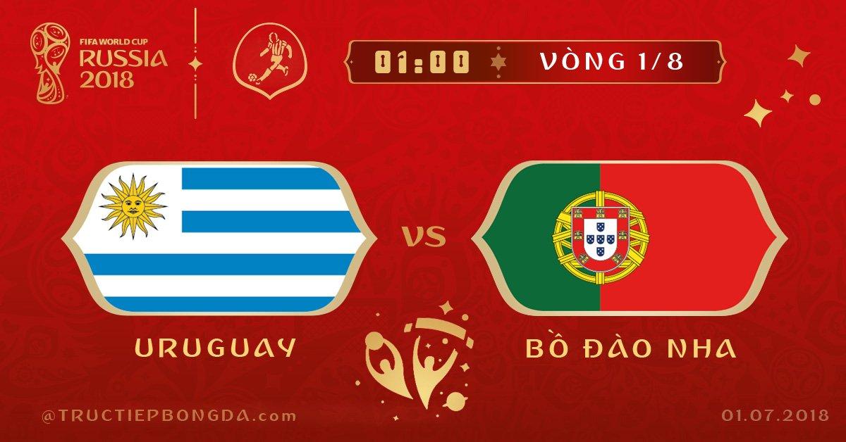 Uruguay vs Bồ Đào Nha