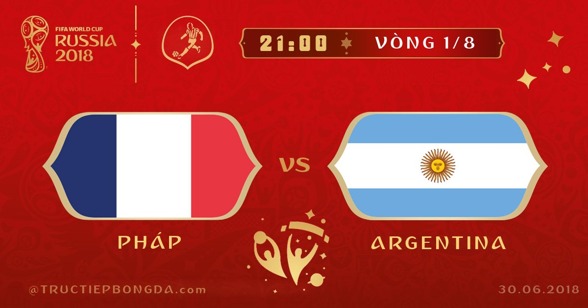 Pháp vs Argentina