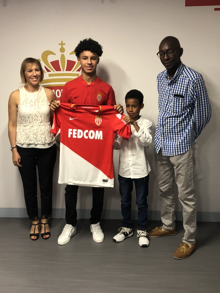 Maillot THIRD AS Monaco Sofiane DIOP